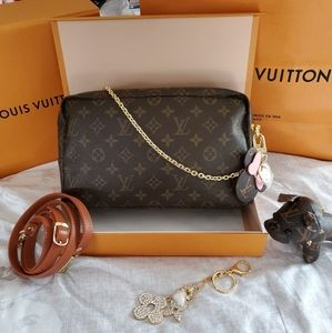 ❣Louis Vuitton Monogram Trousse 28❣